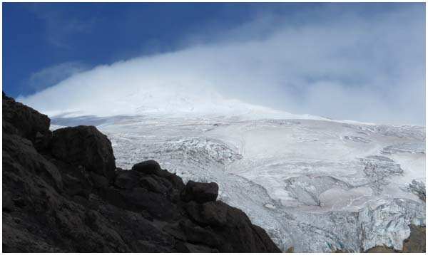 volcan cayambe equateur